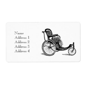 Bring out the Bath Chairs! Shipping Label
