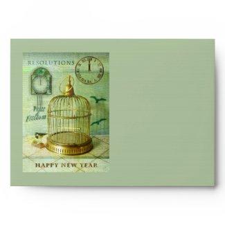 Bronze Birdcage Envelope