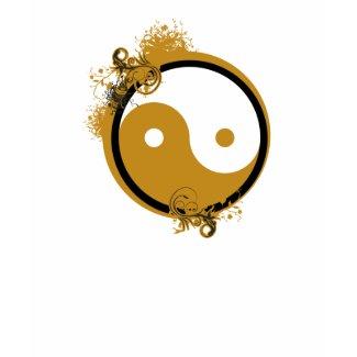 Bronze Yin Yang shirt