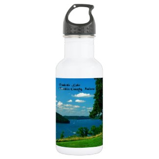 Brookville Lake, Franklin County Indiana 18oz Water Bottle