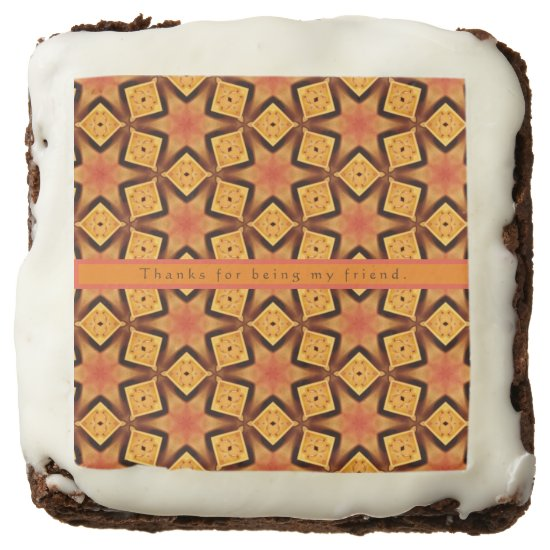 Brownie Personalized Cute Party Favor Fun Birthday