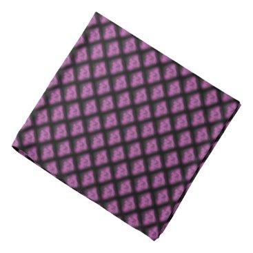 buddha in purple bandana