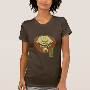 Buddhist Monkey Remain Calm Tshirt