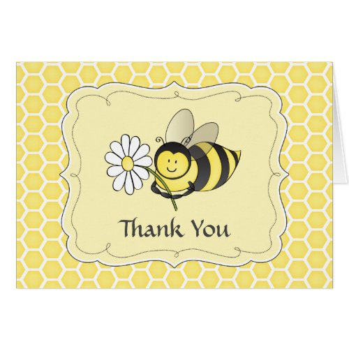 Bumble Bee Thank You Note