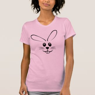 Bunny Face T Shirts