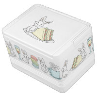 Bunny with Sandwiches Cooler