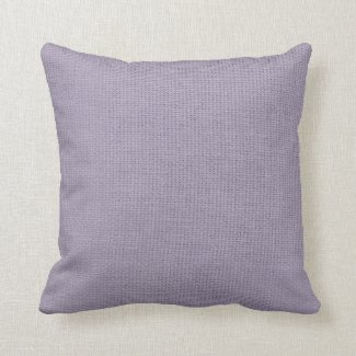 Burlap Simple Lilac Pillows