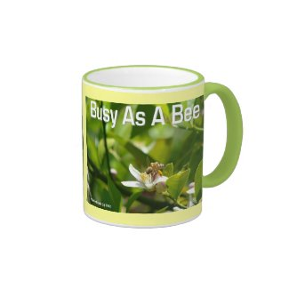 Busy as a Bee - Ringer Mug