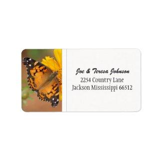Butterfly Address Labels