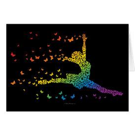 Butterfly Dancer Card