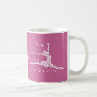 Butterfly Dancer Coffee Mugs