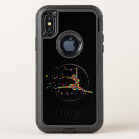 Butterfly Dancer OtterBox Defender iPhone X Case