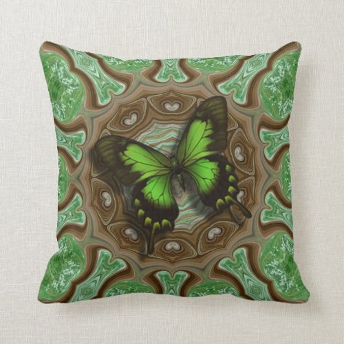 Butterfly Delight. Throw Pillow