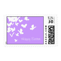 Butterfly Easter Stamp