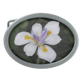 Butterfly Iris - Belt Buckle