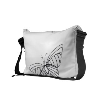 Butterfly Messenger Purse rickshawmessengerbag