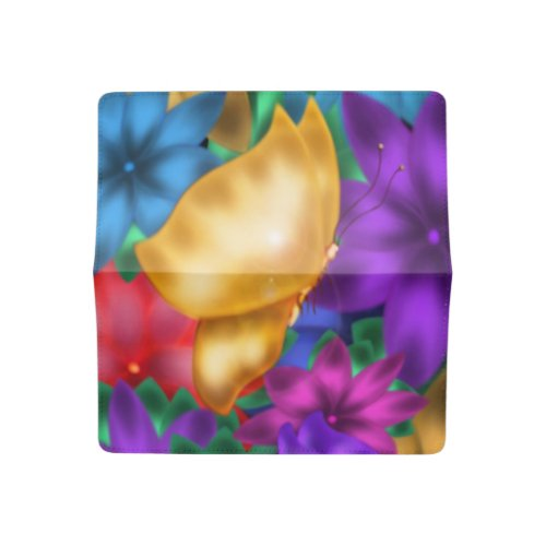Butterfly Paradise Checkbook Cover