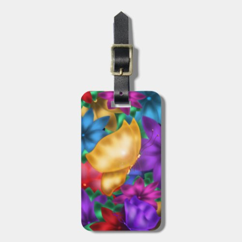 Butterfly Paradise Tag For Luggage