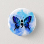 Butterfly semicolon button