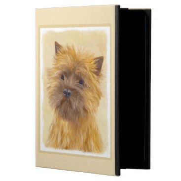 Cairn Terrier Painting - Cute Original Dog Art Powis iPad Air 2 Case