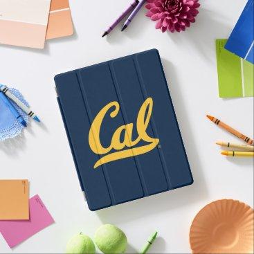 Cal Gold Script iPad Smart Cover