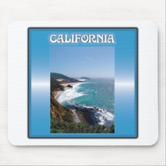 California Big Sur Ocean View Mouse Pads