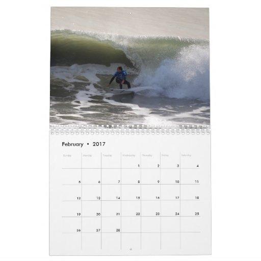 California Surfers Calendar 2017