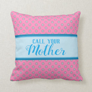 call mom decorative throw pillows