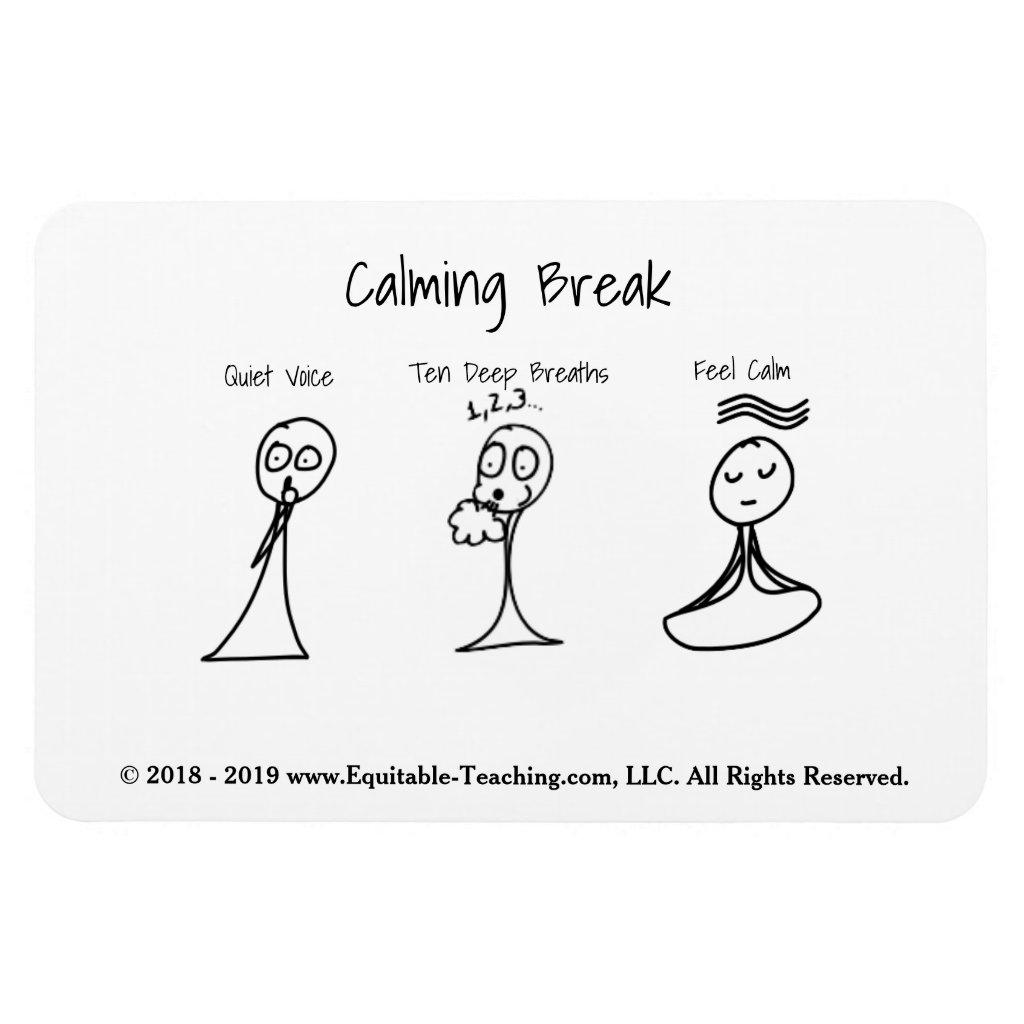 Calming Break Magnet