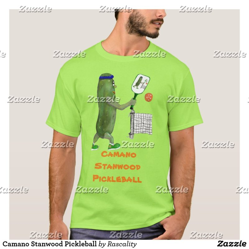 Camano Stanwood Pickleball T-Shirt
