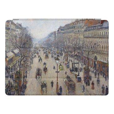 Camille Pissarro - Boulevard Montmartre, morning iPad Pro Cover