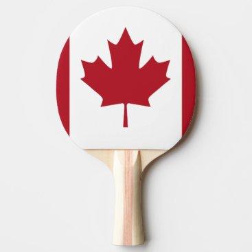 CANADA Ping-Pong PADDLE