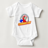 Cannon Cat Infant Outfit Baby Bodysuit