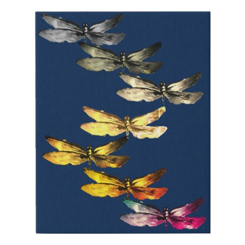 Canvas photo - dragonfly