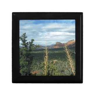 Capitol Butte Sedona Arizona Keepsake Boxes