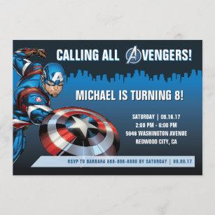 marvel invitations zazzle