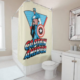captain america shower curtains zazzle