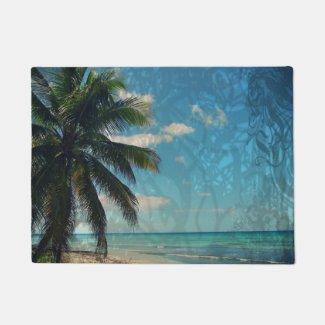 Caribbean Blue Doormat