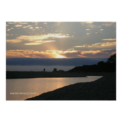 Carmel Sunset Couple zazzle_print