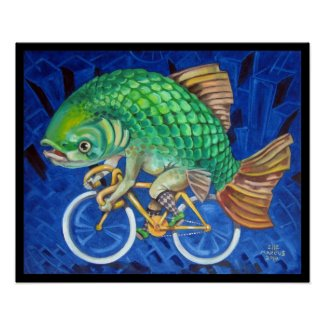 Carp on a Bicycle