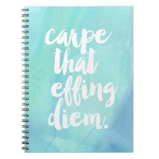Carpe That Effing Diem | Aqua