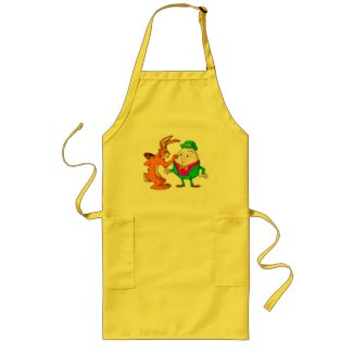 Cartoon Humpty Dumpty cooking apron apron