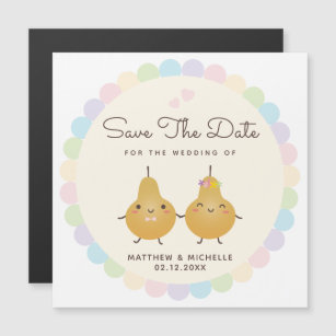 Single slide and easy to edit.download powerpoint template link. Cartoon Couple Wedding Save The Date Cards 50 000 Templates Zazzle