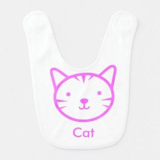 Cat Baby Bib