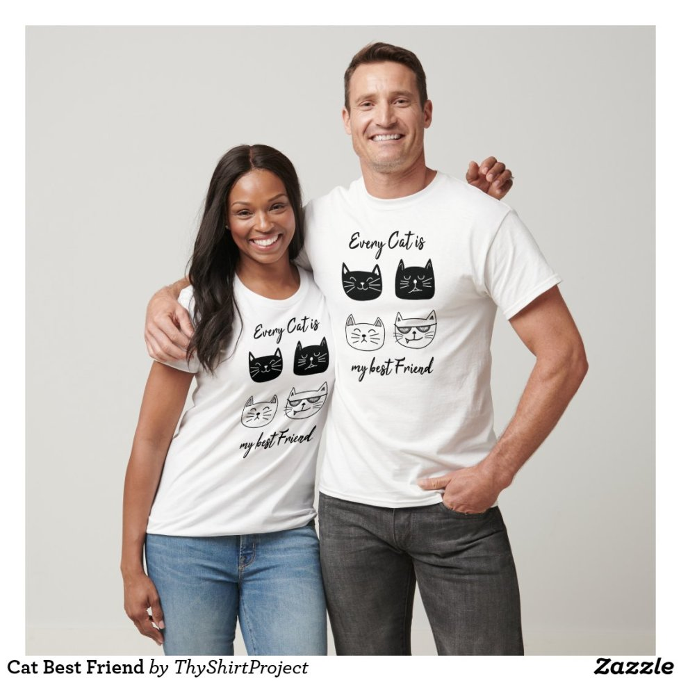 Cat Best Friend T-Shirt