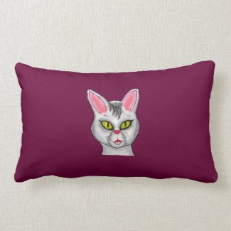 Cat cartoon Pillow