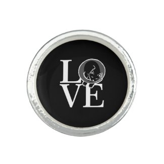 Black Cat Love Ring