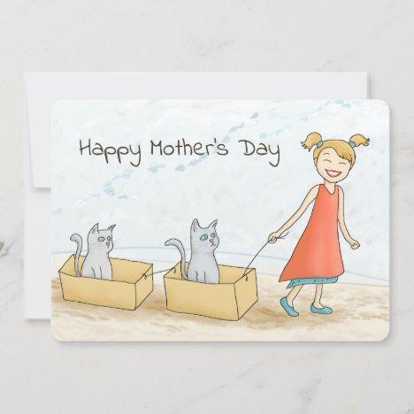 Cat Mom Happy Mother's Day
