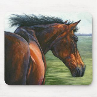 Catch - Horse Mouse Pad mousepad
