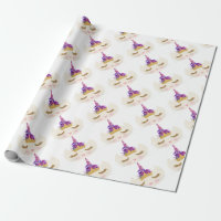 Caticorn, Cat Unicorn kitty princess Wrapping Paper